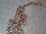 "19.2"" Diamond Necklace 36 Diamonds .180 Carat T.W. 18K Yellow Gold 29.4g"